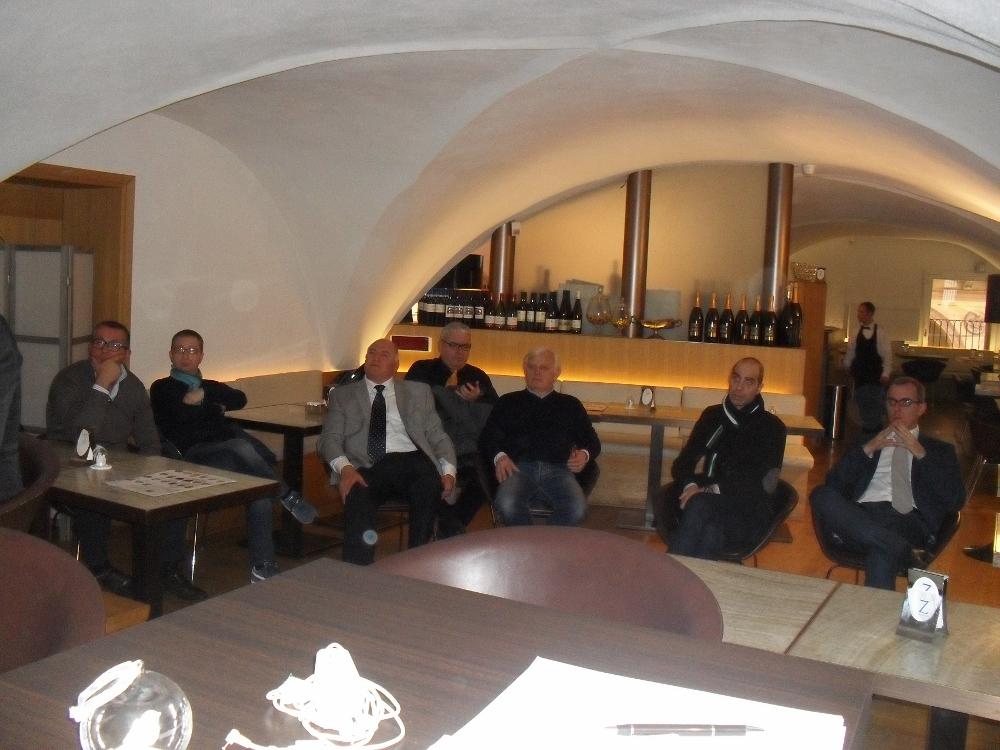 Presentazione al Caffè Zanarini